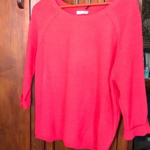 Sweaters - NWT red summer sweater, sz XL